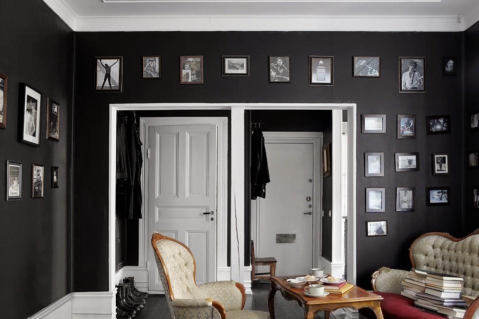 Paredes negras para 36m de piso decoraci n for Decoracion piso 35 m