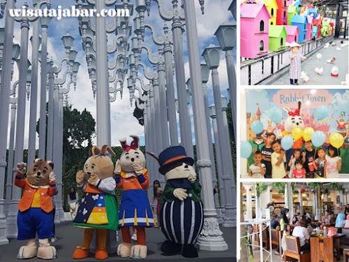 Rabbit Town Wisata Selfie Dan Rekreasi Kekinian Di Bandung Utara