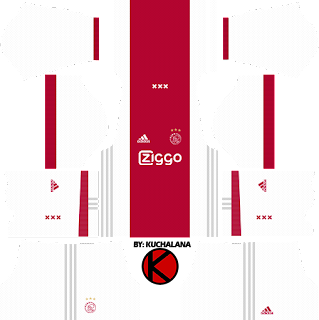 Ajax Amsterdam Kits 2017/2018 - Dream League Soccer