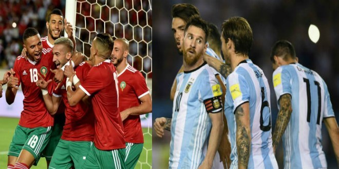 مباراة المغرب والارجنتين 26-03-2019 ودية اليوم