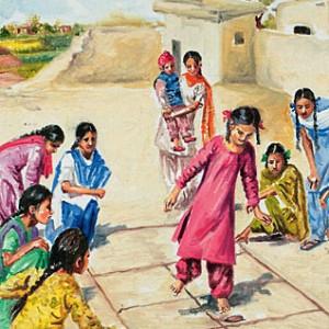 Shrinking Childhoods by Vibhu & Me