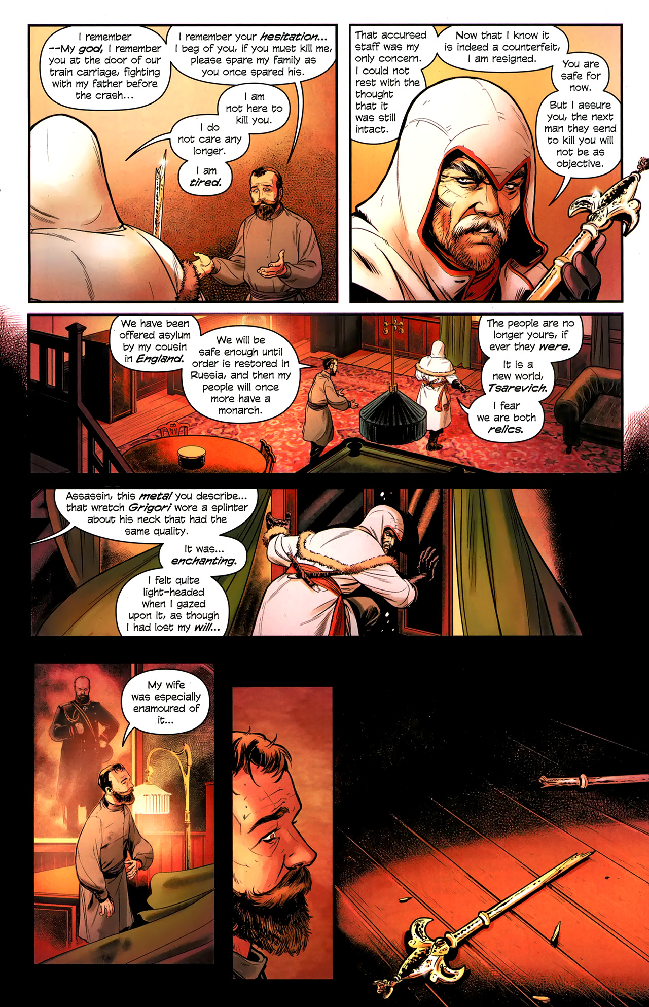 Read online Assassin's Creed: The Fall comic -  Issue #3 - 15