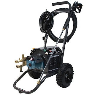 Campbell Hausfeld CP5211 2,000 PSI Commercial Grade Electric 120 Volt Pressure Washer specifications and photos