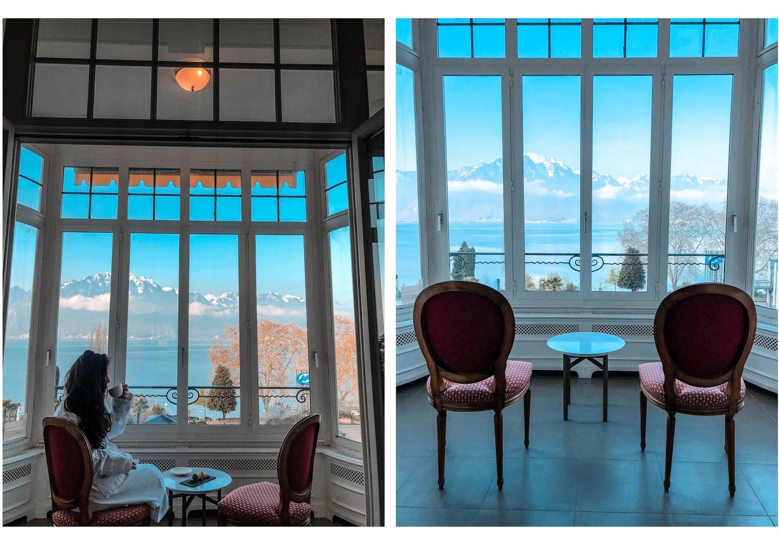 Fairmont Le Montreux Palace hôtel de luxe venus is naive