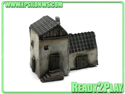 Spanish Houses 10mm REF: ESP10-03