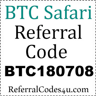 BTC Safari App Referral Code, Invite Code, Reviews & Hacks 2021