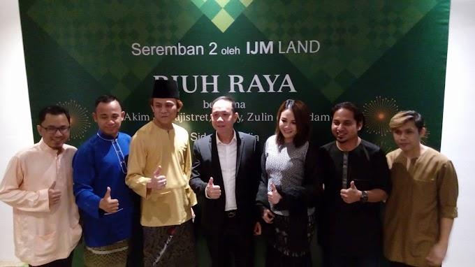Riuh Raya 2017 IJM Land Bersama Akim & The Majistret Dan Stacy