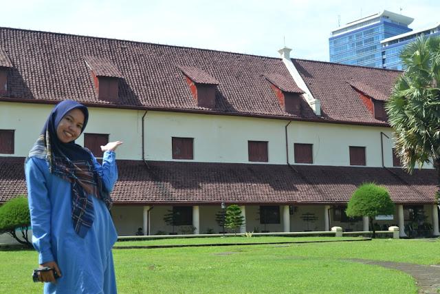 Bangunan Sejarah Benteng Rotterdam Makassar