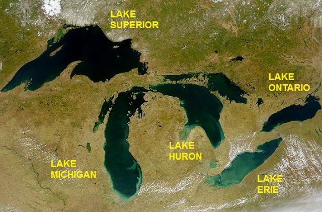 Grandi Laghi Nord America