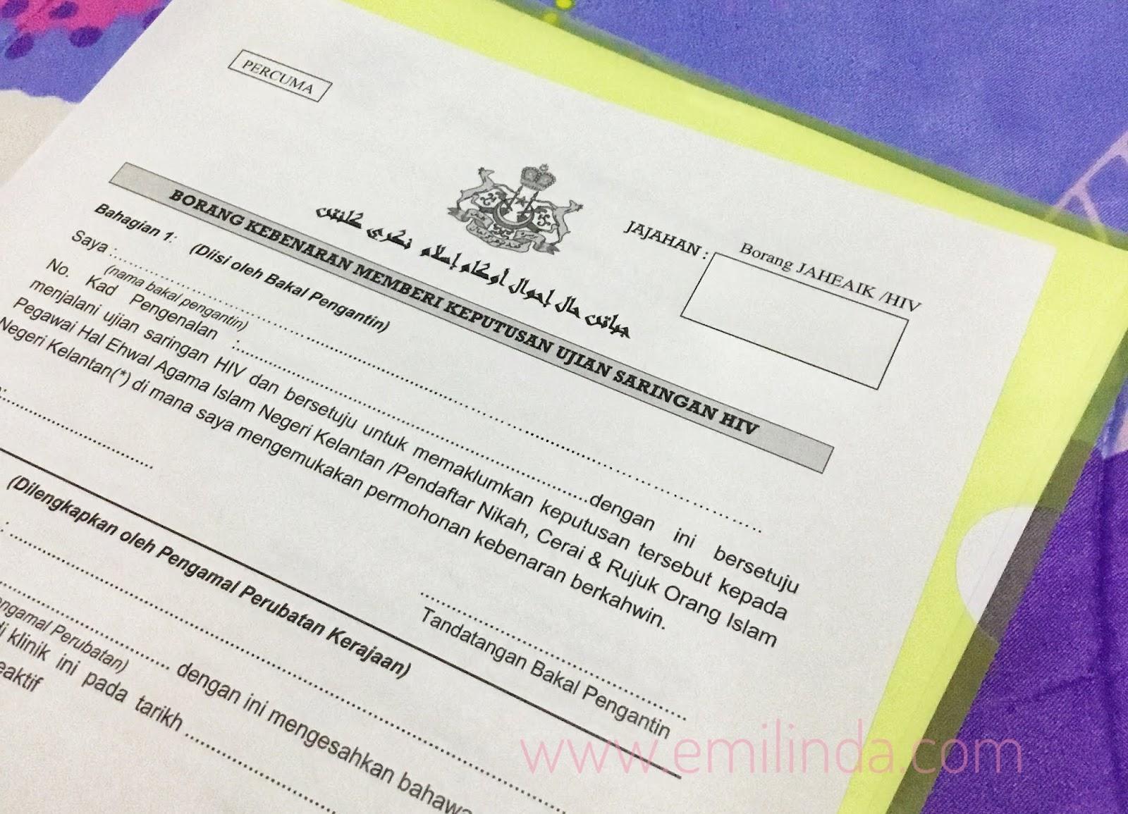 Persediaan Kahwin Prosedur Permohonan Nikah Negeri Kelantan