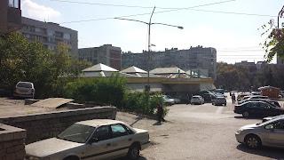 Yambol, Bazaar, Rakovski Street,