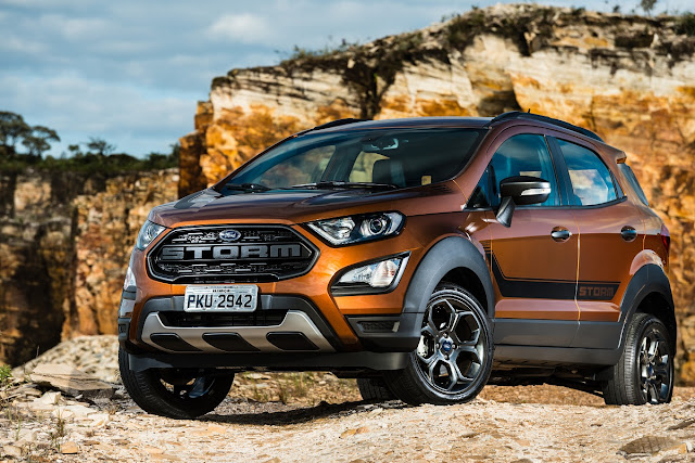 Ford EcoSport Storm: marrom Trancoso