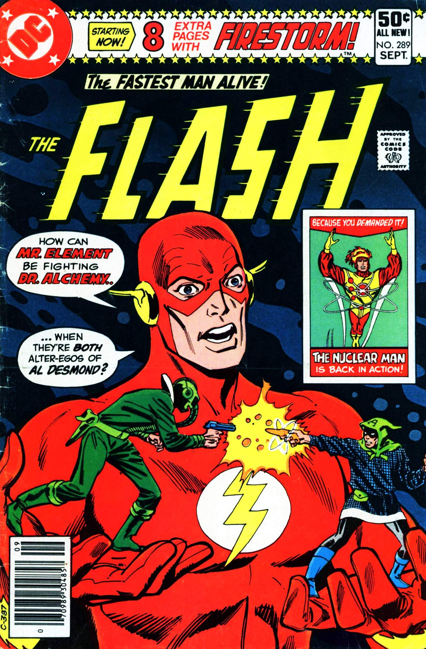The Flash (1959) issue 289 - Page 1