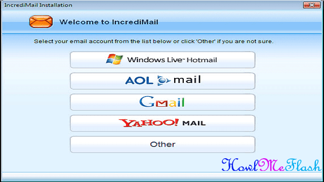 Access Gmail in Incredimail