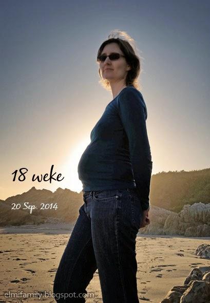 Elmi 18 weke swanger