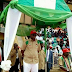 See what Gov Fayose wore to Ekiti Worker's day Celebration