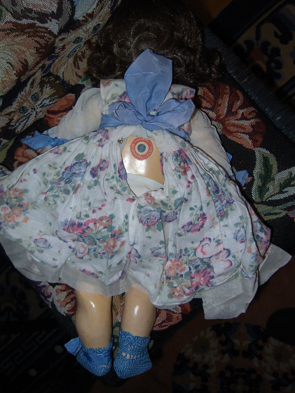 VETRO soffiata Doll gli occhi in blu grigio in varie taglie