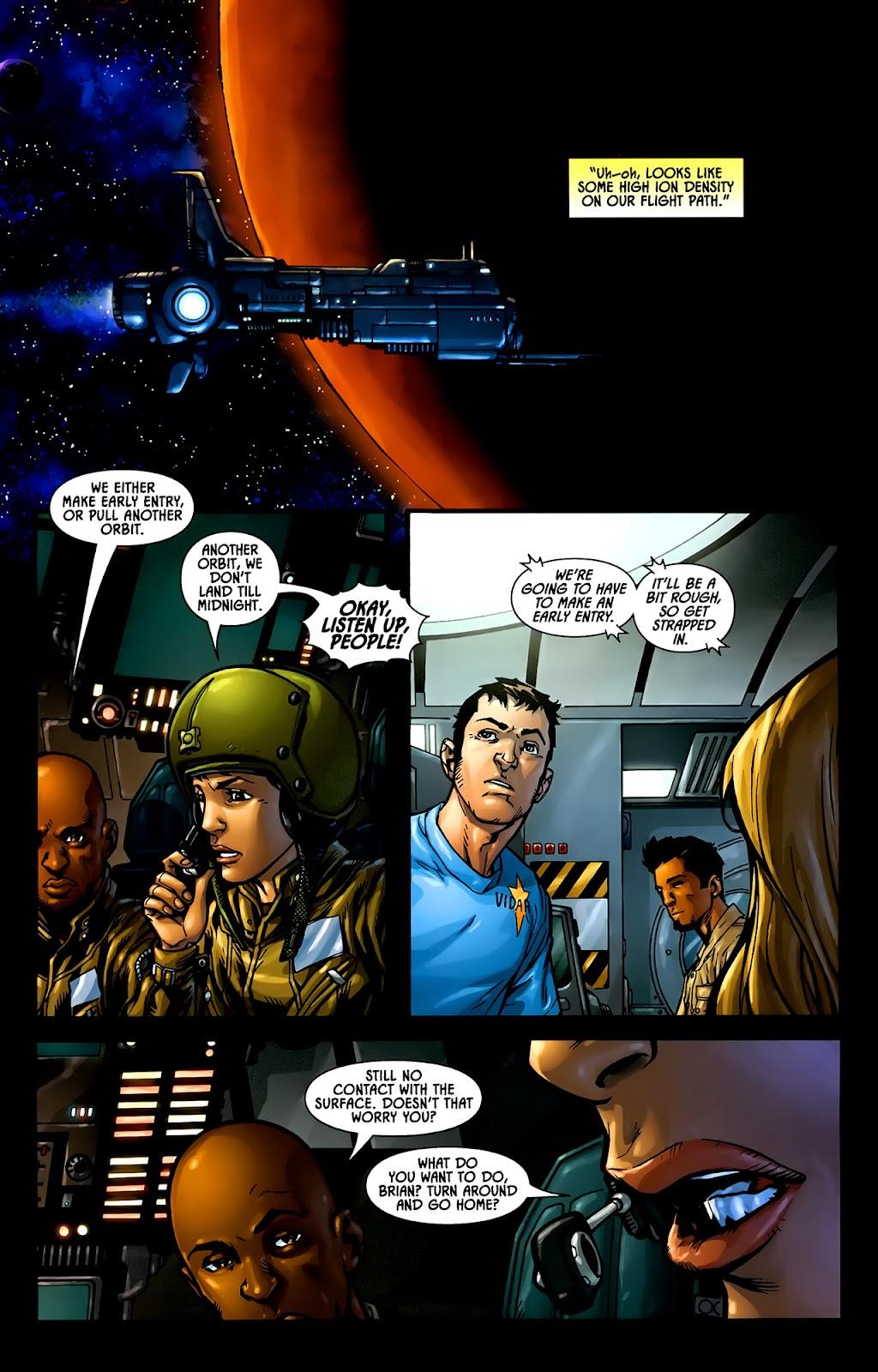 Read online Aliens (2009) comic -  Issue #1 - 13