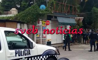 Ejecutan a balazos a hombre en Colonia Buena Vista de Cordoba Veracruz