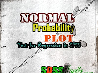 Normal Probability Plot Test for Regression in SPSS Complete