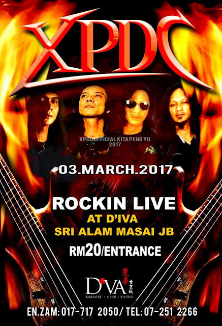 Event XPDC Rockin Live D'va - Masai JB | 03MArch 2017
