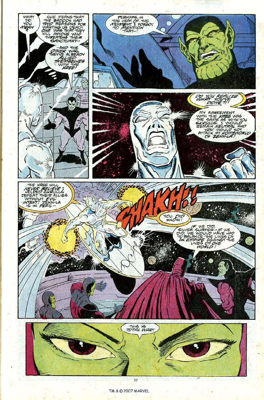 Read online Silver Surfer (1987) comic -  Issue #25 - 19