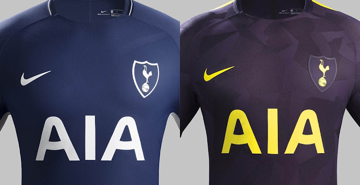 super popular 623bf 3f8af Is Nike's New Tottenham 17-18 Third Kit Useless? - Footy ...