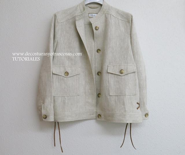 proceso de confección chaqueta urbana