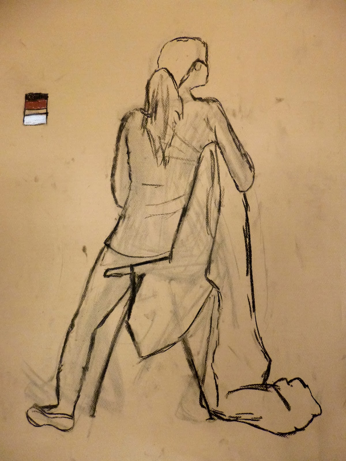 Lane Tech Art Studio : Figure Drawing And Expressing Light