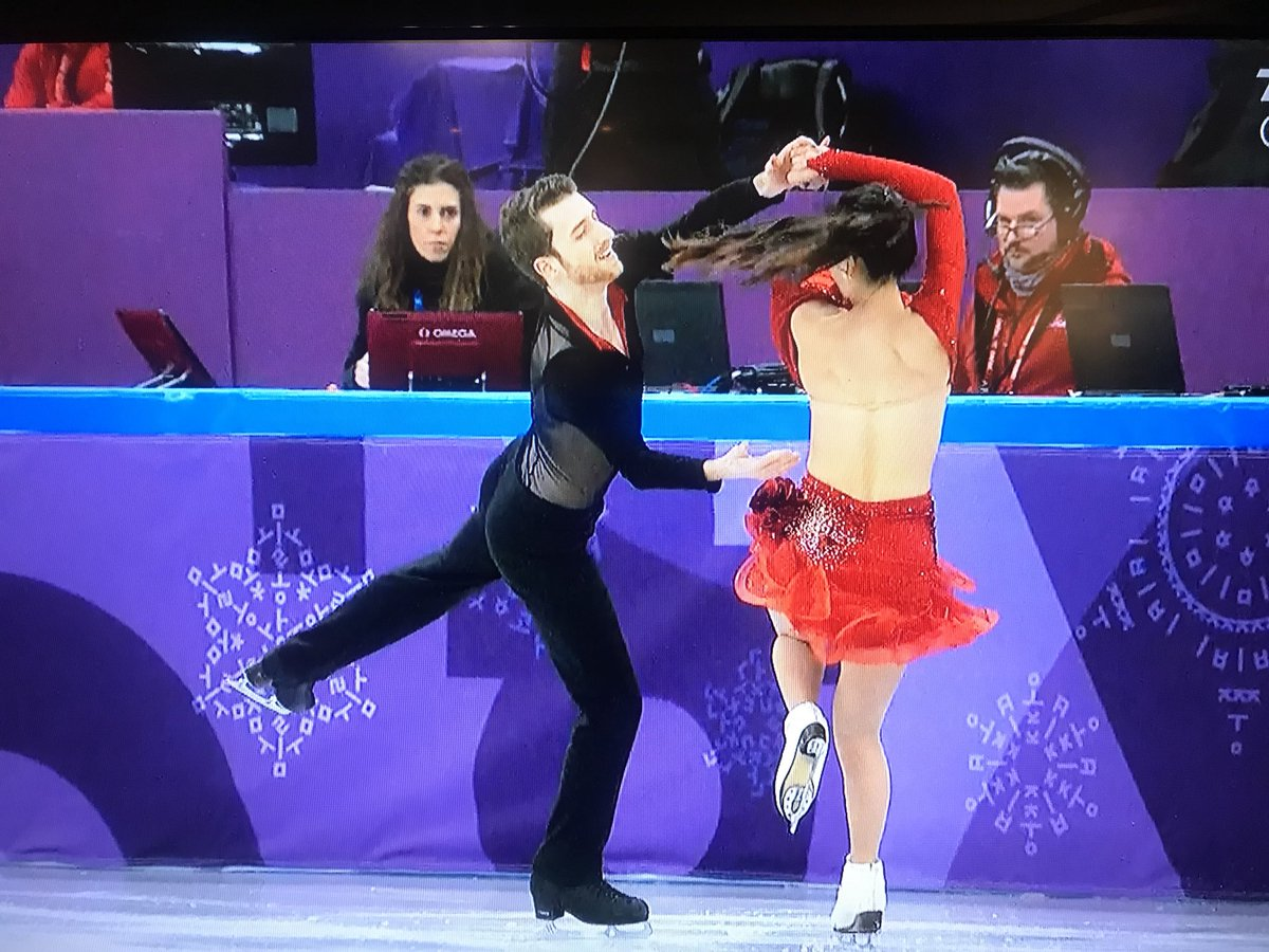 South Korean ice dancer Yura Min suffered a wardrobe malfunction at the worst possible time, mid-routine in front of her home crowd.