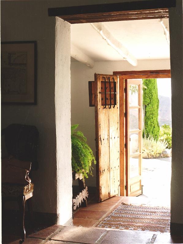 puerta antigua recuperada chicanddeco