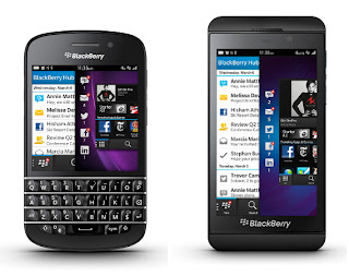Blackberry Q10 dan Z10