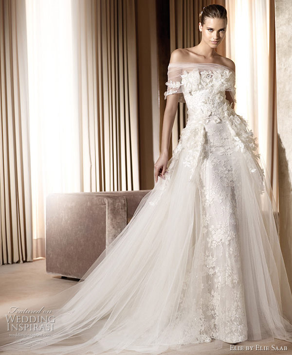 Most Beautiful Wedding Dresses 2012