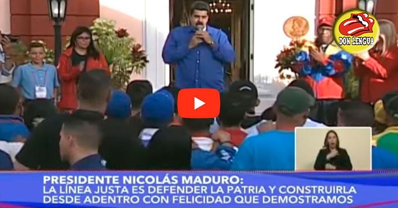 Maduro le pidió a los jóvenes que estudien y aprendan a manejar fusiles y armas de guerra