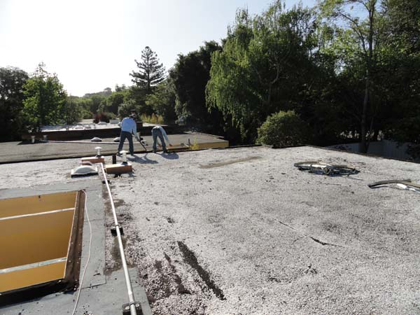 Tar And Gravel System (Built Up Roof Or BUR)