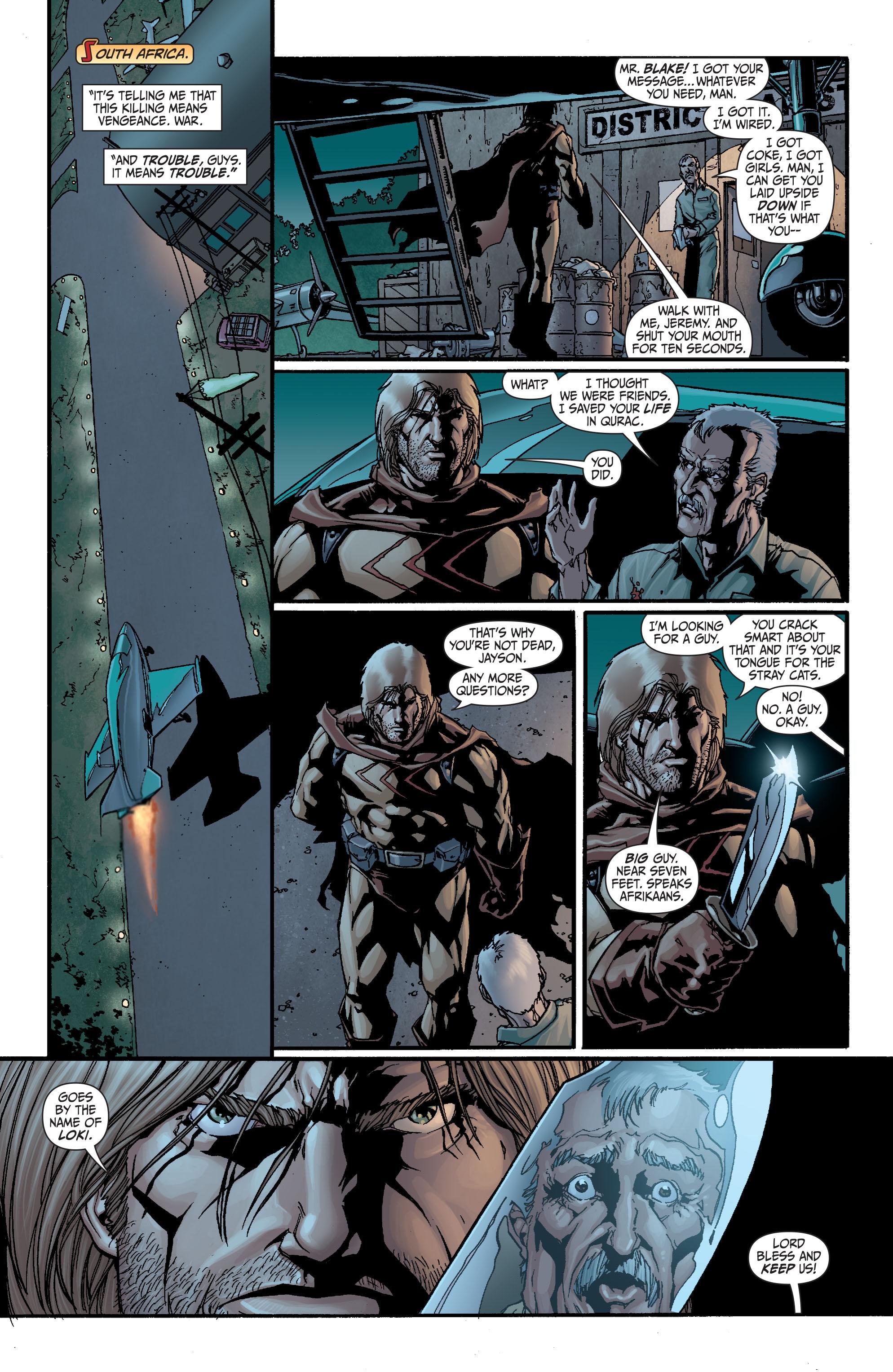 Read online Secret Six (2008) comic -  Issue #21 - 10