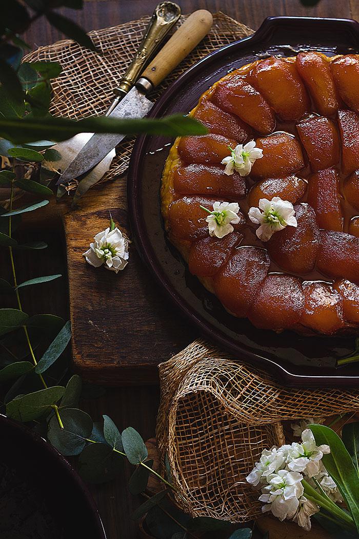Tarta Tatín de manzana