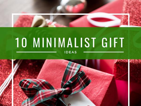 12 Days of Christmas - 10 Minimalist Gift Ideas