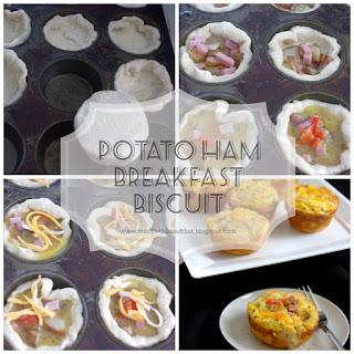 Potato Ham Breakfast Biscuit ~Ultimate Recipe Challenge -  Potatoes
