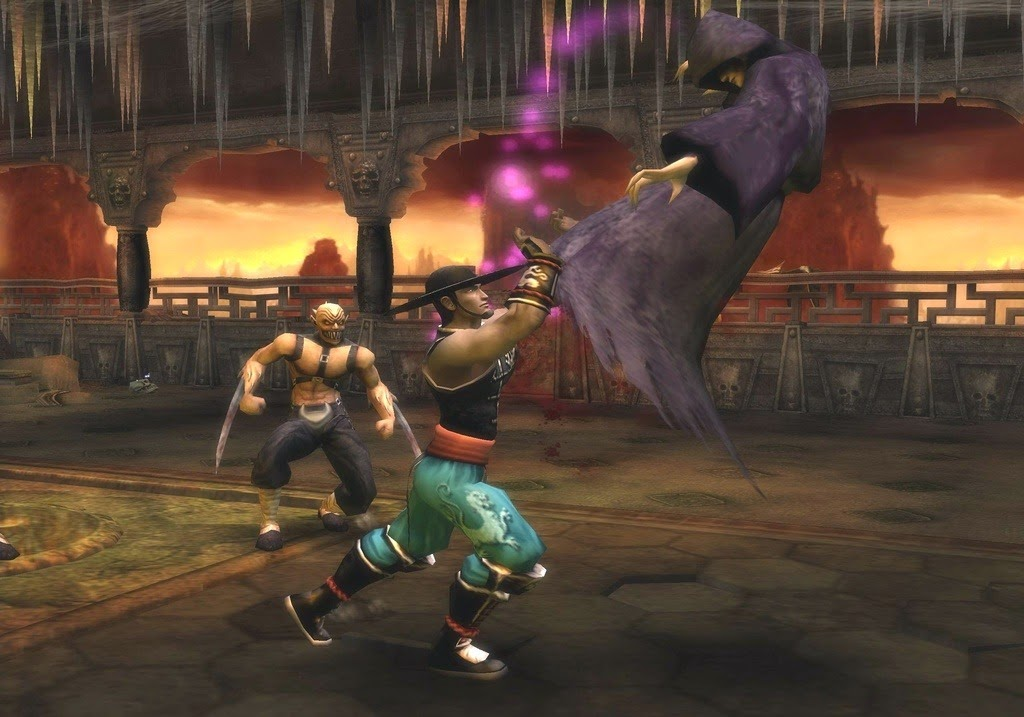 game legenda mortal kombat shaolin monks