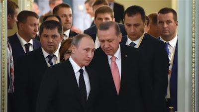 Turki-Rusia Siap Percepat Upaya Bantuan Kemanusiaan ke Aleppo