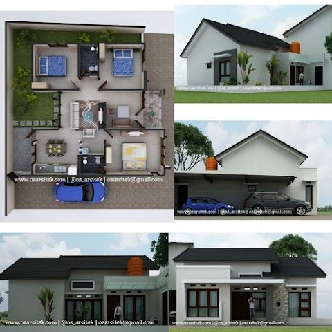 Desain Rumah Ibu Rida di Surakarta