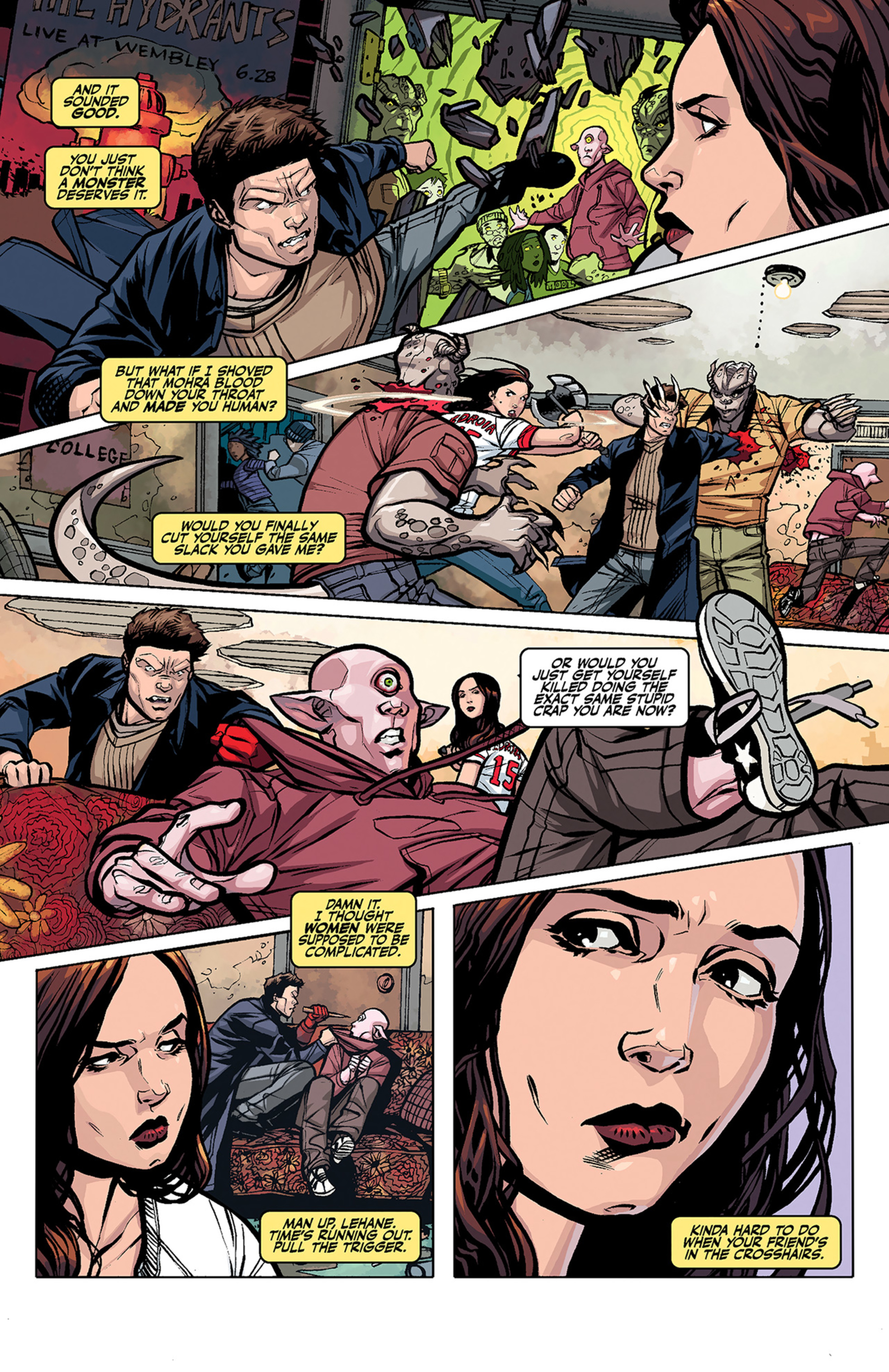 Read online Angel and Faith comic -  Issue #3 - 9