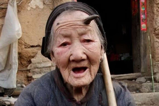 Chinese grandmother - The Unicorn Woman