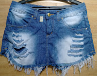 shorts saia jeans tam 40