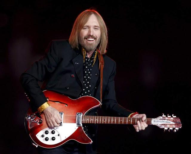 Tom Petty, durante un concierto en 2008