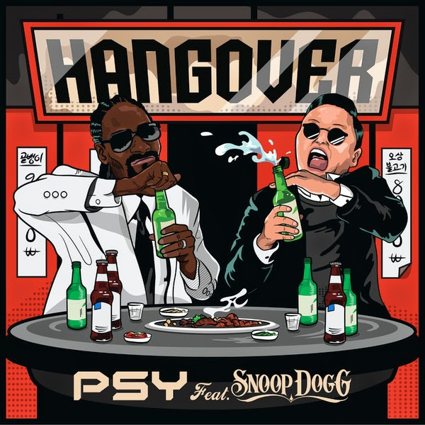 PSY - Hangover (feat. Snoop Dogg) - Single Cover