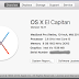 comparison v/s Apple Mac OS X El Capitan 10.11 and Yosemite 10.10