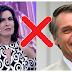 Em vídeo, Jair Bolsonaro detona Fátima Bernardes, assista