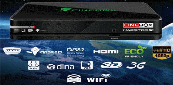 RECOVERY USB CINEBOX MAESTRO  TELA COLORIDA - 04/08/2015